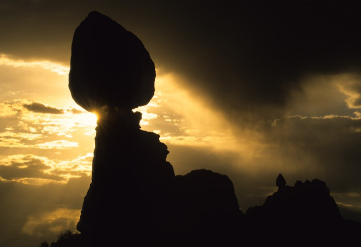 Balanced Rock, Arches N.P., Utah, U.S.A