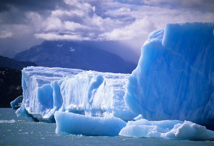 Blue ice, Laguna San Rafael, Cile