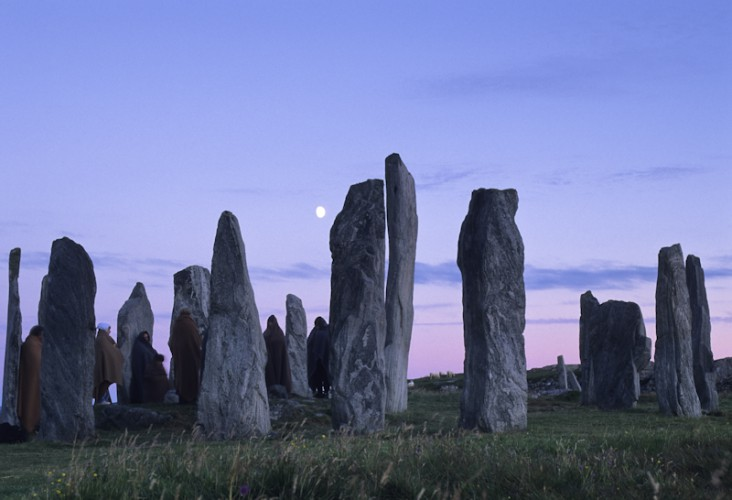 Celtic memories, Standing Stones of Callanish, Scotland