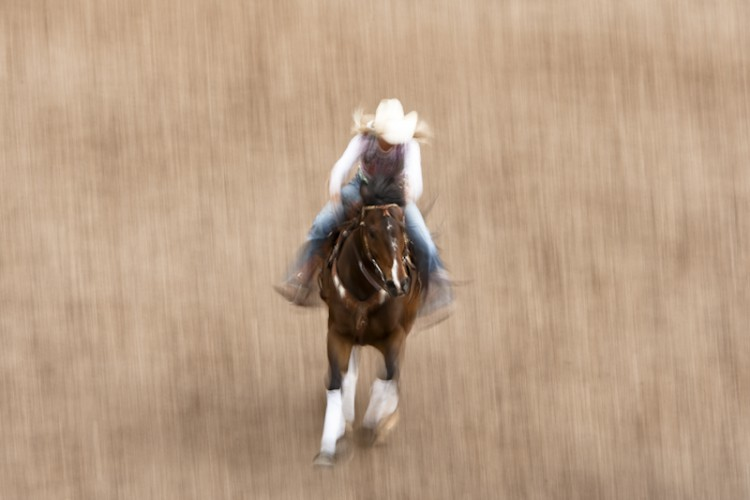Cowgirl, Cody, Wyoming, U.S.A.