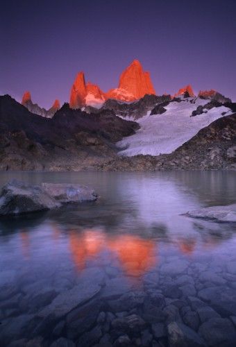 First Light, Mt. Fitz-Roy - Patagonia, Argentina