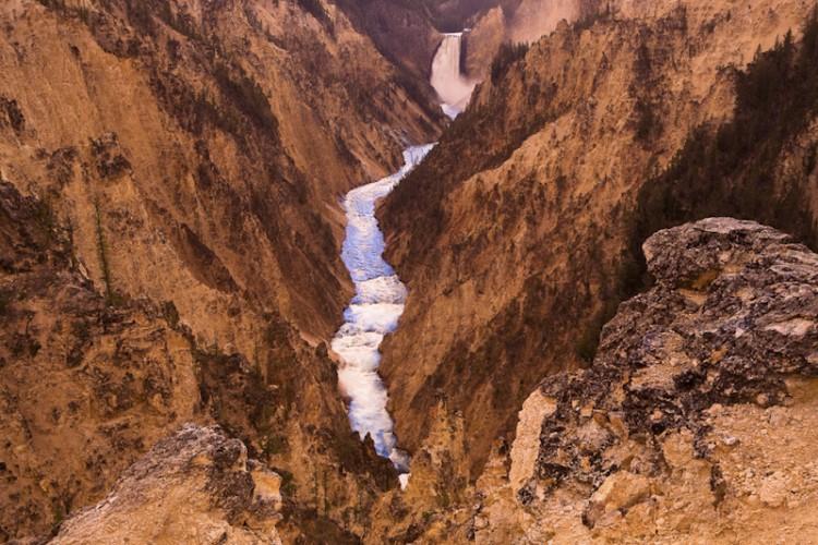 Grand Canyon of Yellowstone, Wyoming,U.S.A.