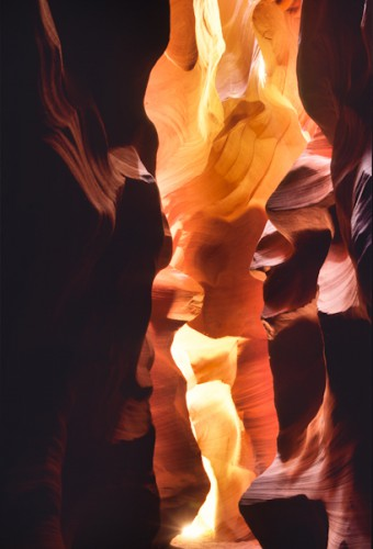 Inside The Canyon, Antelope Canyon, Arizona,U.S.A