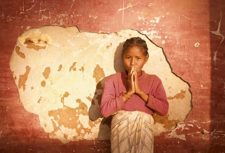 Malgasy girl, Antsirabe, Madagascar
