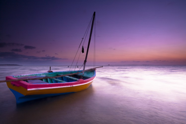 Mozambique channel's dawn, Mozambique