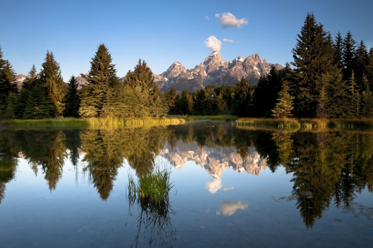 The Tetons, Wyoming, U.S.A.