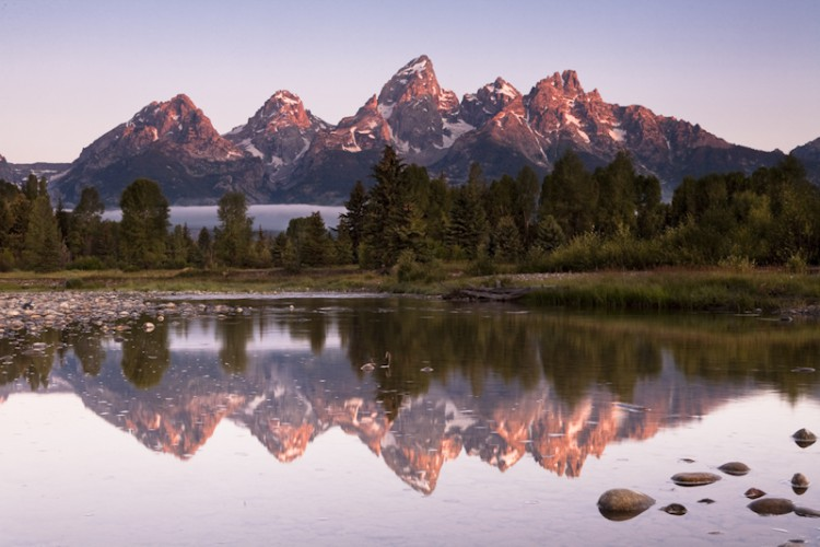 The Tetons, Wyoming,U.S.A.