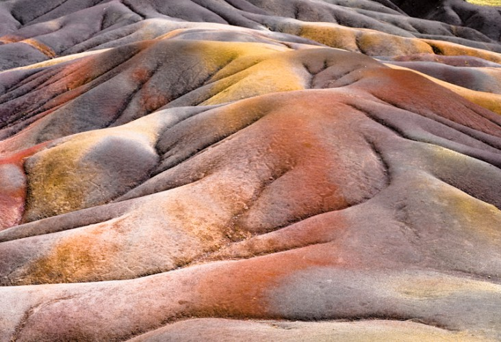 The ground of seven colors, Mauritius island