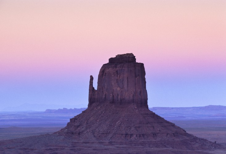 Twilight, Monument Valley, Arizona, U.S.A.