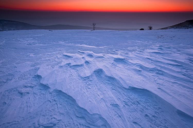 Fire and Ice, Mt. Slavnik, Slovenia, Europe