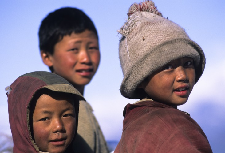 Friends, Khumbu Valley,Nepal