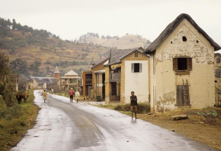 High Country Village, Madagascar, Indian Ocean