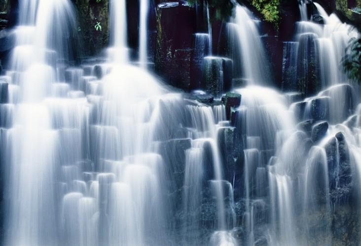 Waterfall, Mauritius Island, Indian Ocean