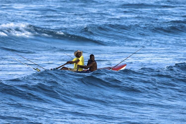 Mozambican Fishermans, Tofo, Mozambico