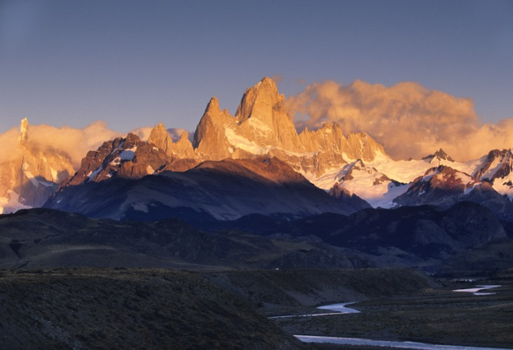 Mt Fitz-Roy and Cerro Torre, Patagonia, Argentina
