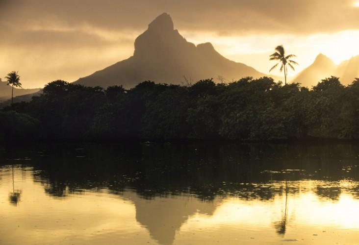 Tamarin Bay, Mauritius Island