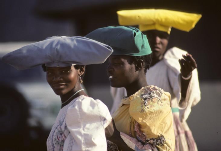Namibian's Girls, Windhoek, Namibia