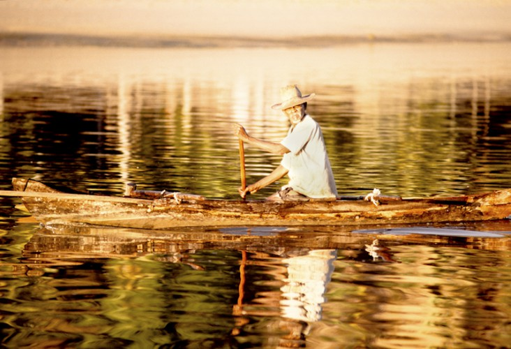 Nosy Komba Fisherman, Madagascar
