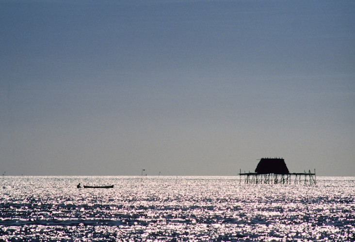 Fisherman's House, Sulawesi Island, Indonesia