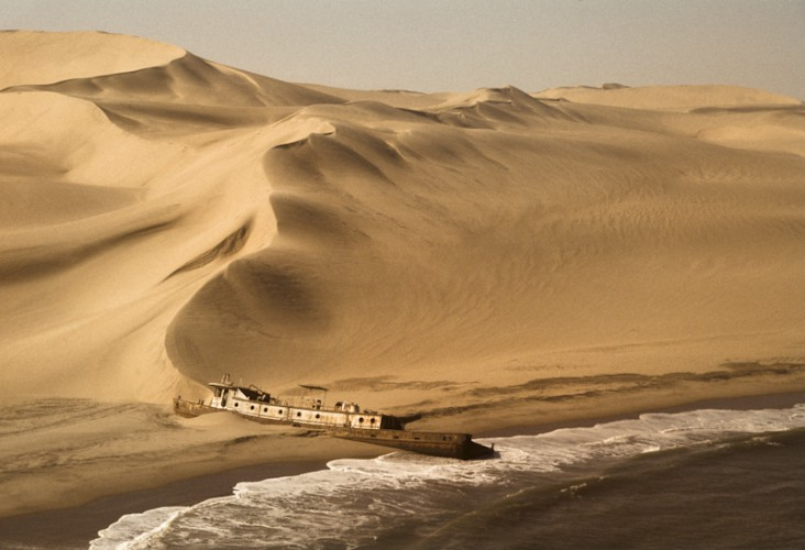 Shipwreck, Skeleton Coast, Namibia