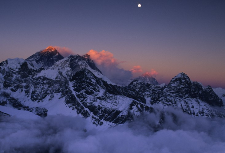 The top of the World, Mt. Everest, Himalaya, Nepal