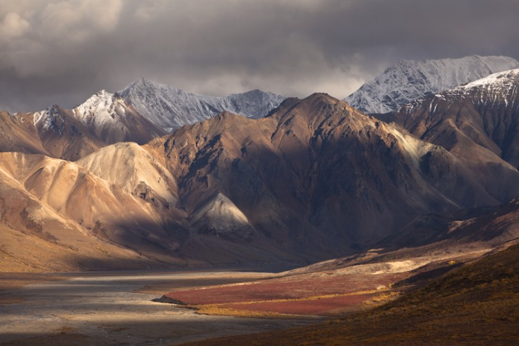 Passing Light-Alaska Range-Denali N.P.-Alaska