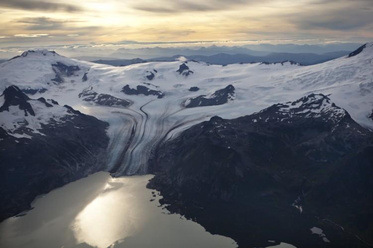 Mt Douglas Glacier-Katmai N.P.-Alaska