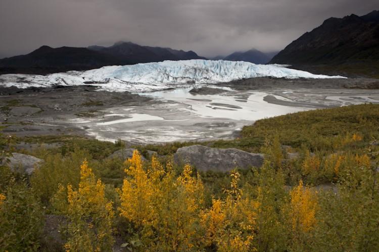 Matanuska Glacier-Chugach Mountains-Alaska