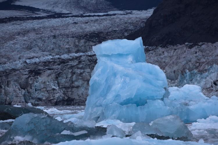 New Iceberg-Columbia Glacier-Kenai Peninsula-Alaska